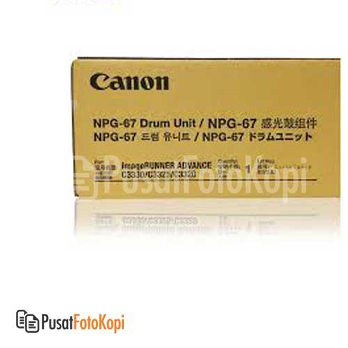 Canon Drum NPG 67 – Black (IRA C3320/3325/3330)